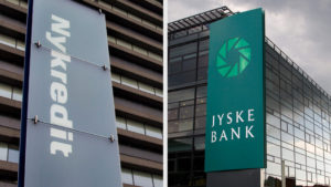 Billed Jyske Bank og Nykredit