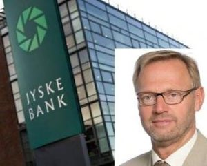 Jyske bank og CEO Anders Dam